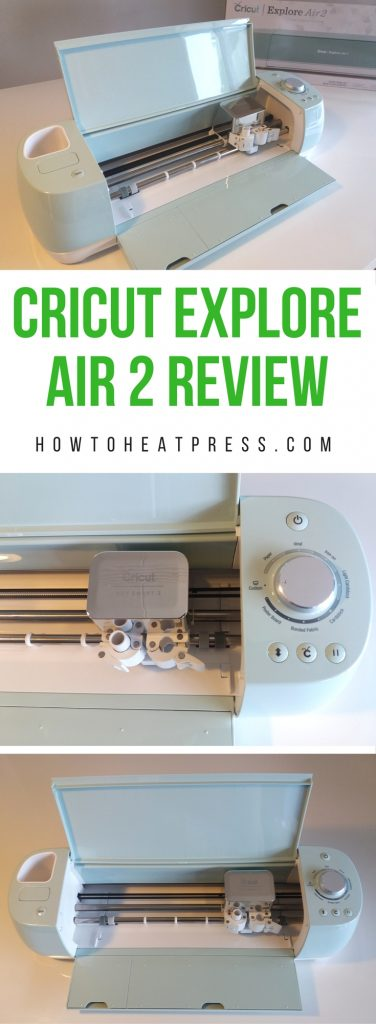 Cricut Explore Air 2 Review: Cutting Machine For Heat Transfer Vinyl
