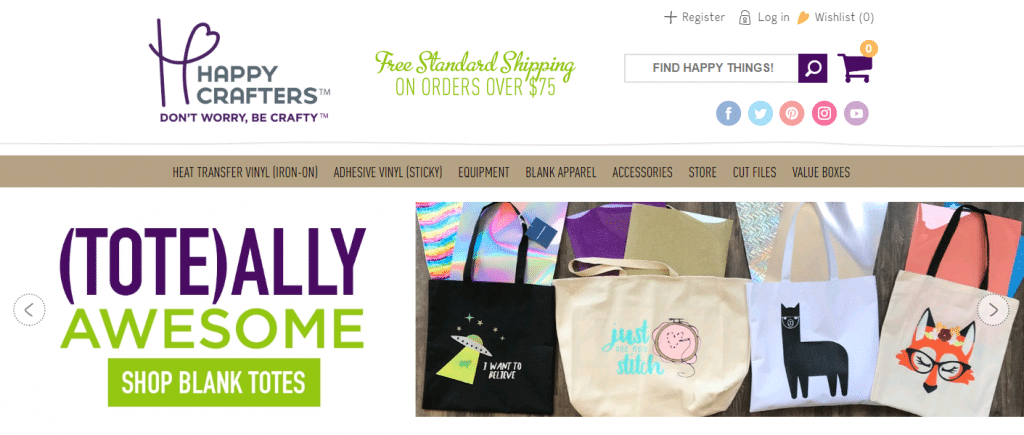 happy crafters heat press vinyl blog