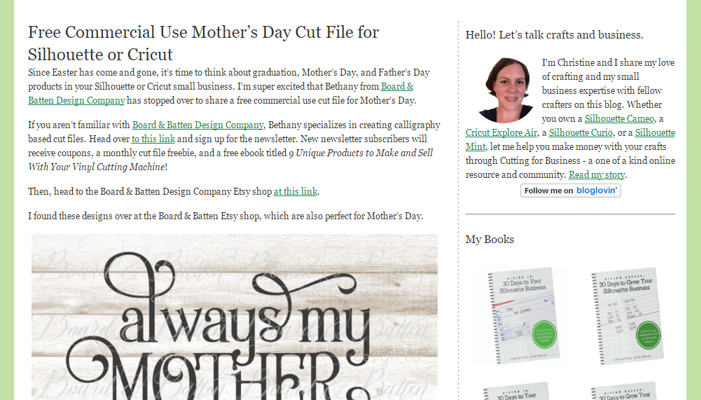 mother's day free svg