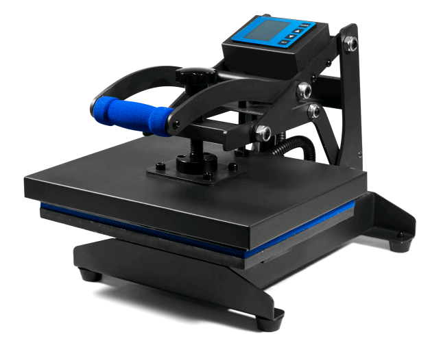 small HPN black series heat press 9 x 12