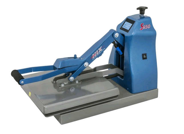 hix auto open heat press machine
