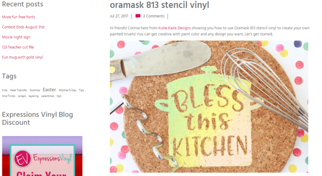 heat transfer vinyl on wooden cork chopping board bless this house