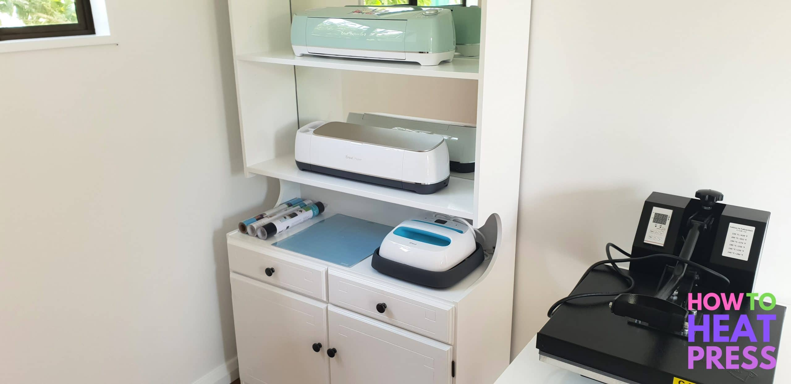 cricut craft room storage