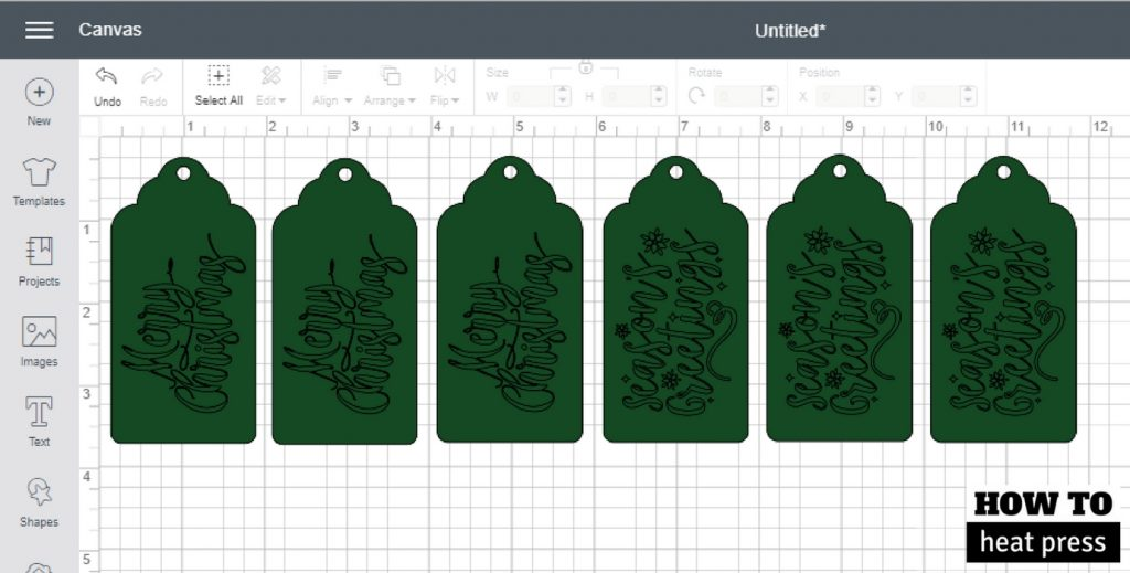 Easy Christmas Gift Tags With The Cricut Explore Air 2