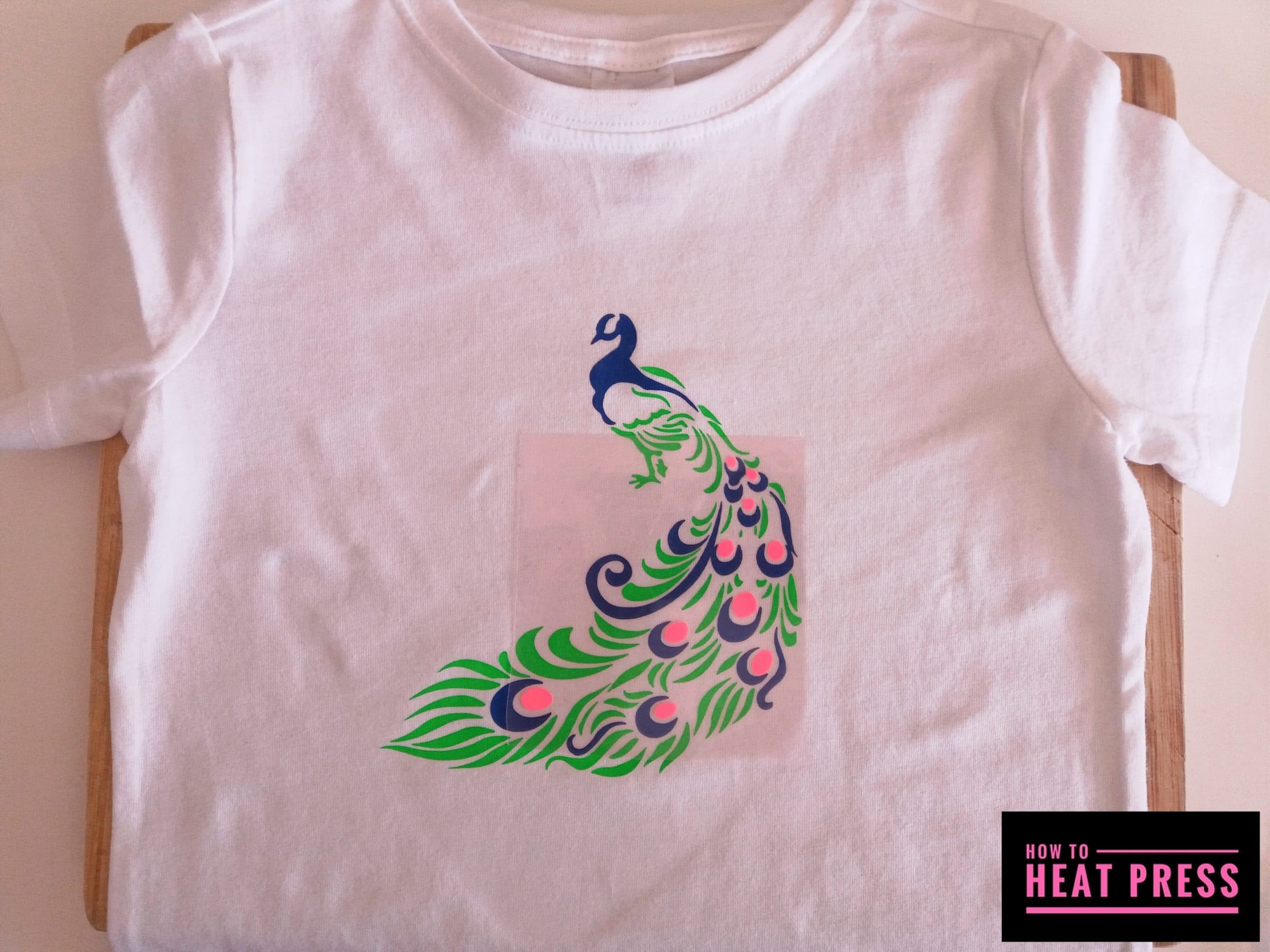 How To Make A Multicolored Htv Tee In Cricut Design Space