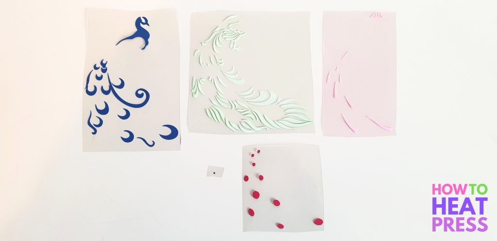 how to make multi color vinyl decals cricut