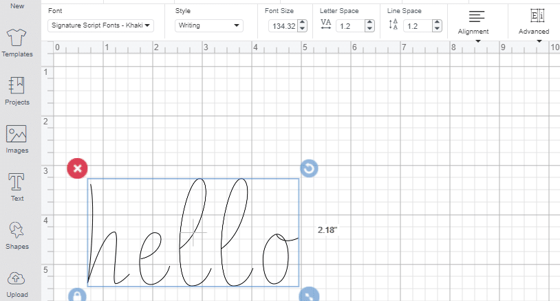 how to import fonts to cricut design space