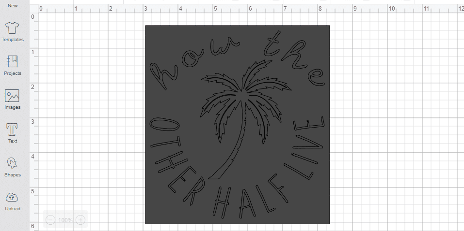 Cricut Design Space curve text feature