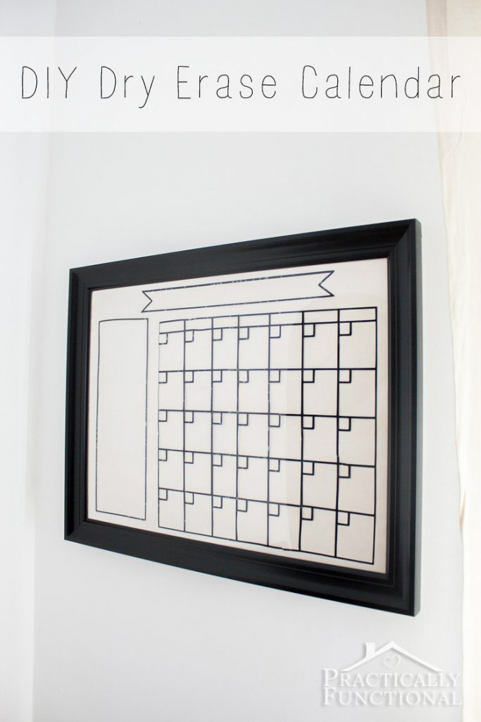 awesome adhesive vinyl project ideas diy dry erase calendar