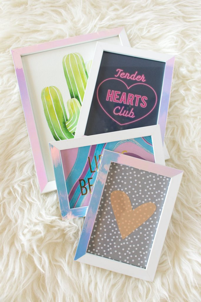 best adhesive vinyl projects holographic vinyl photo frame