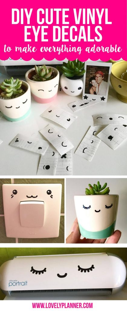 cute adhesive vinyl projects