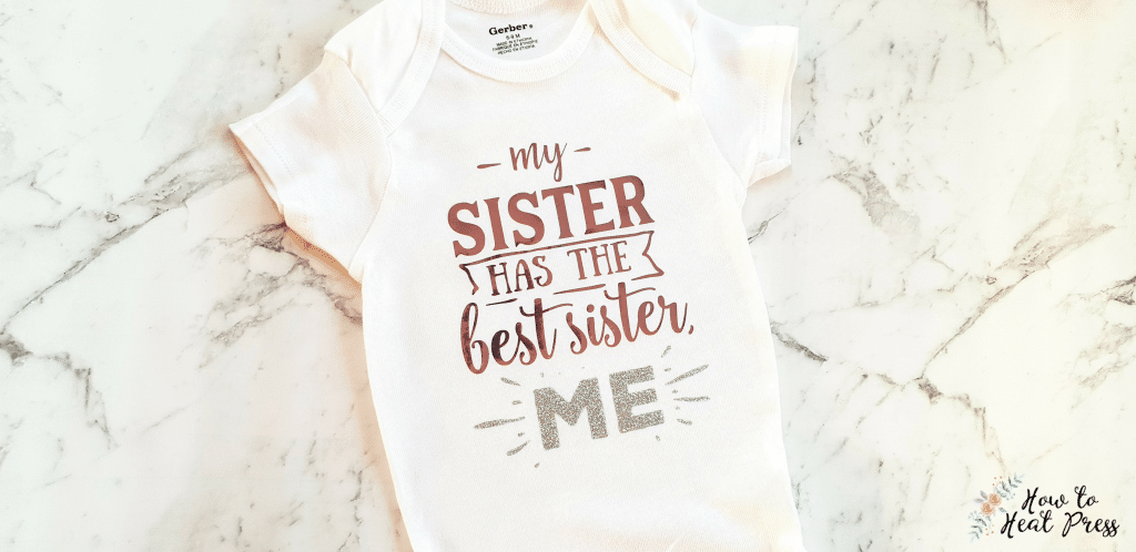 baby onesies for heat press gift ideas
