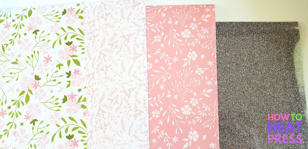 cricut patterned iron on review