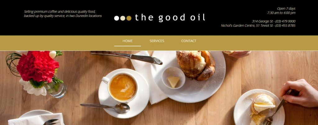 the good oil cafe t shirt with siser easyweed