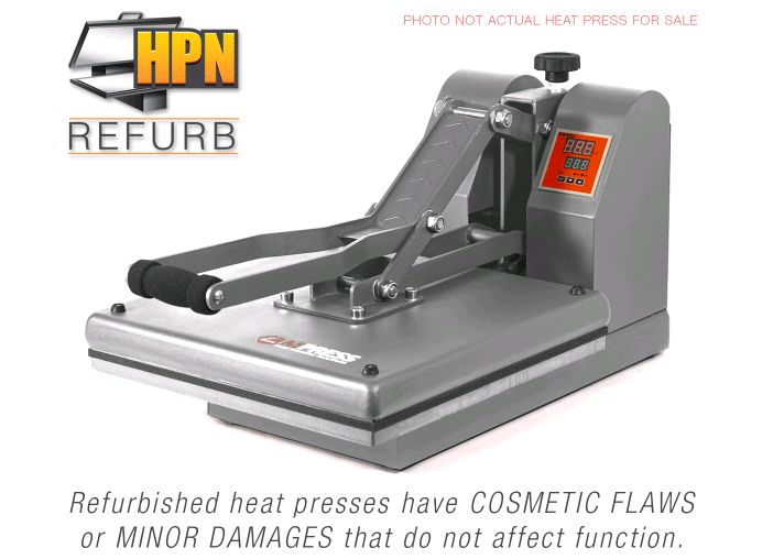 used heat presses for sale