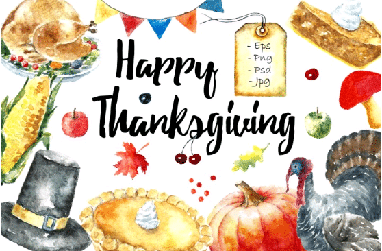 happy thanksgiving clipart1