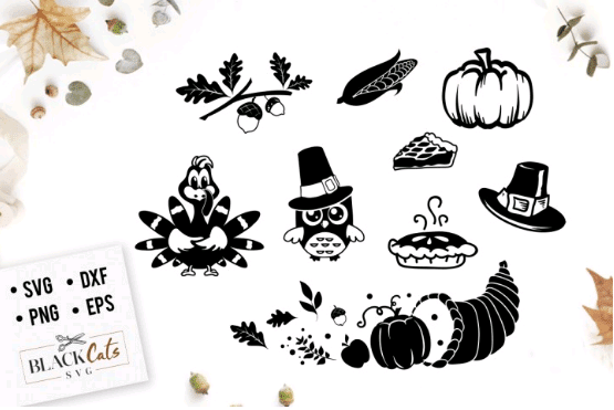 thanksgiving svg cut files