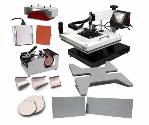 "HPN™ Signature Series™ 15"" x 15"" 12-in-1 Multifunction Heat Press"