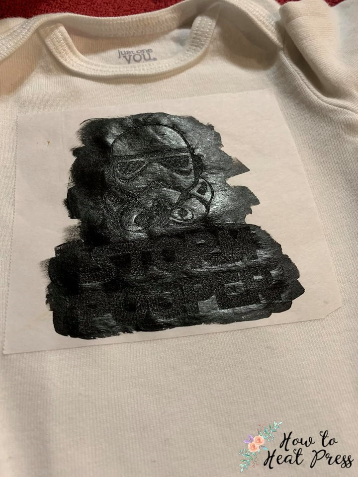custom star wars t shirt made with freezer paper stencil and speedball ink