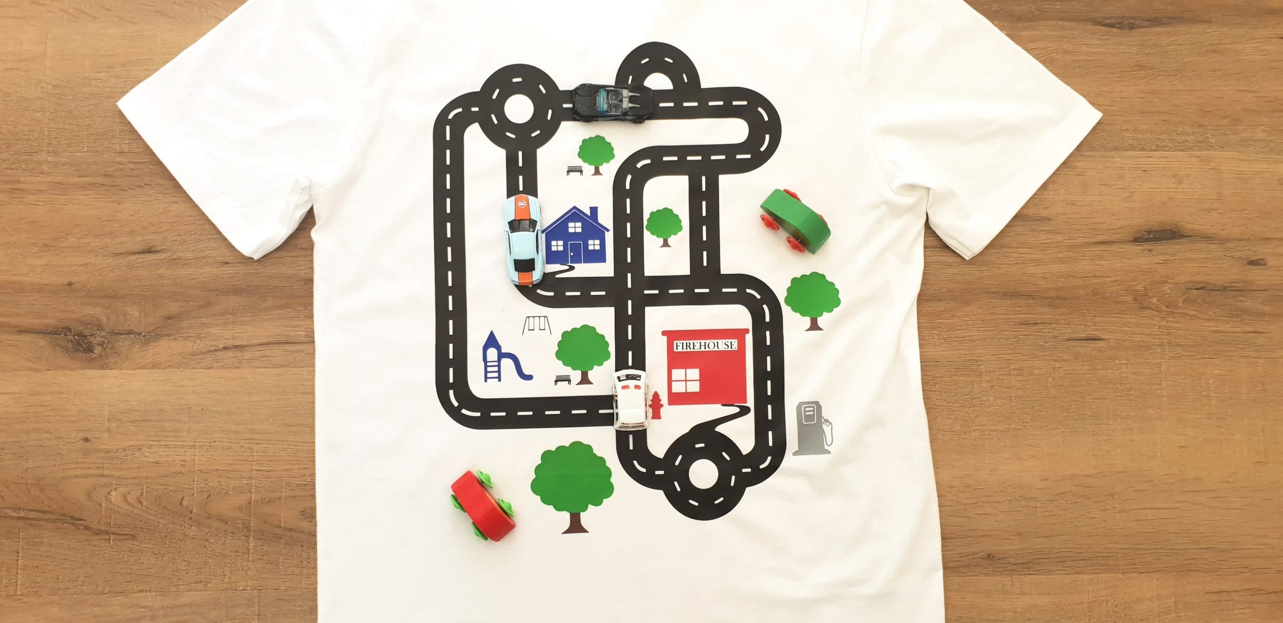 c6043f13 The Best Fathers Day T Shirt! An Interactive Race Car Track Tee