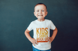 boy t shirt template for mock up
