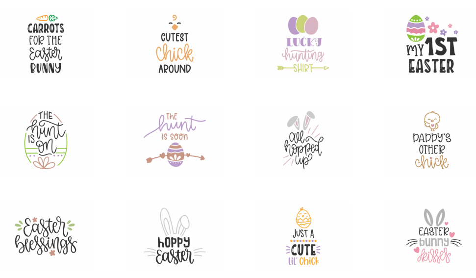 Download Free Easter SVG Files For Cricut & How To Use Them