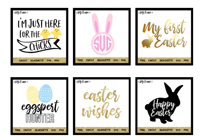 free svg cut files for easter