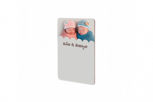 blank message board for sublimation