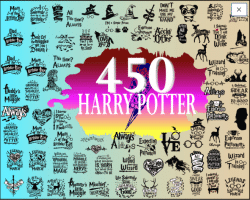 harry potter 450 svg bundle