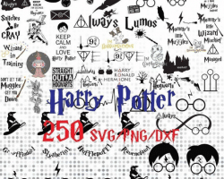 harry potter random SVG bundle