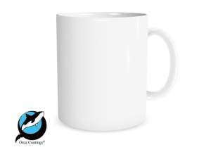 best sublimation mug blanks orca ceramic poly coated