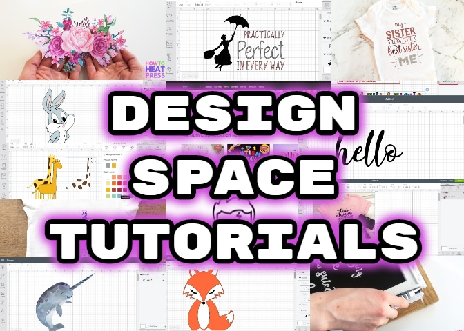 cricut tutorials: how to use cricut design space