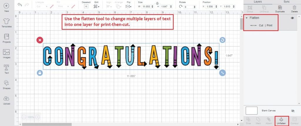 how to edit text on cricut