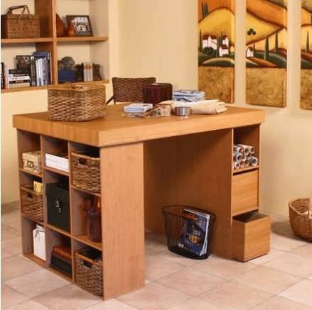 The Best Craft Tables With Storage Folding Sauder For