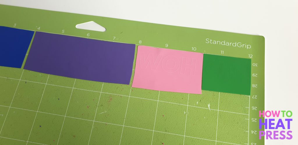 how to cut everything on one mat cricut