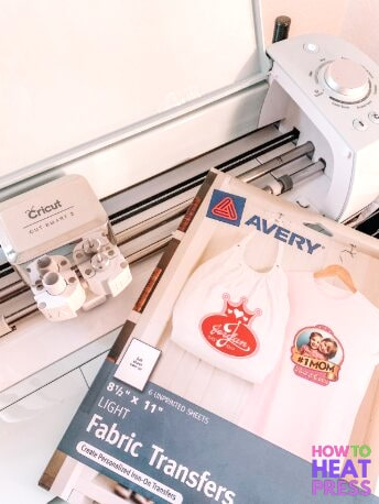 How to Use Cricut Print And Cut With Avery Transfer Sheets