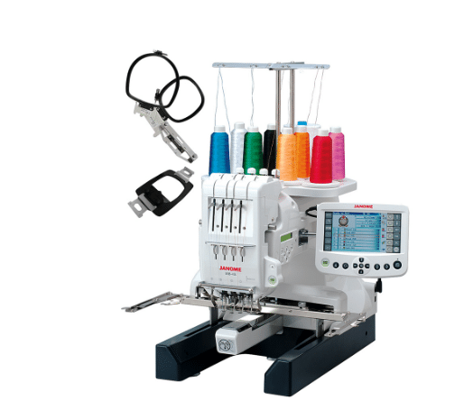 janome embroidery machine review