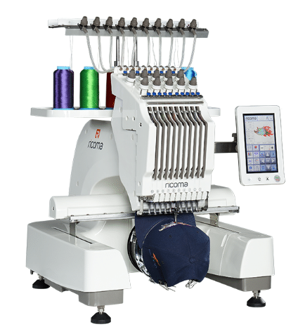 ricoma multi needle embroidery machine