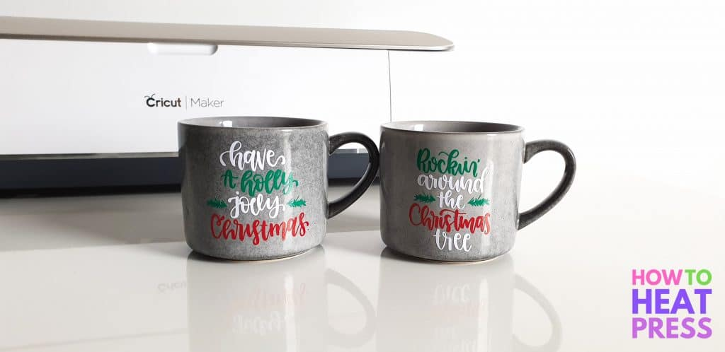 christmas mug decals