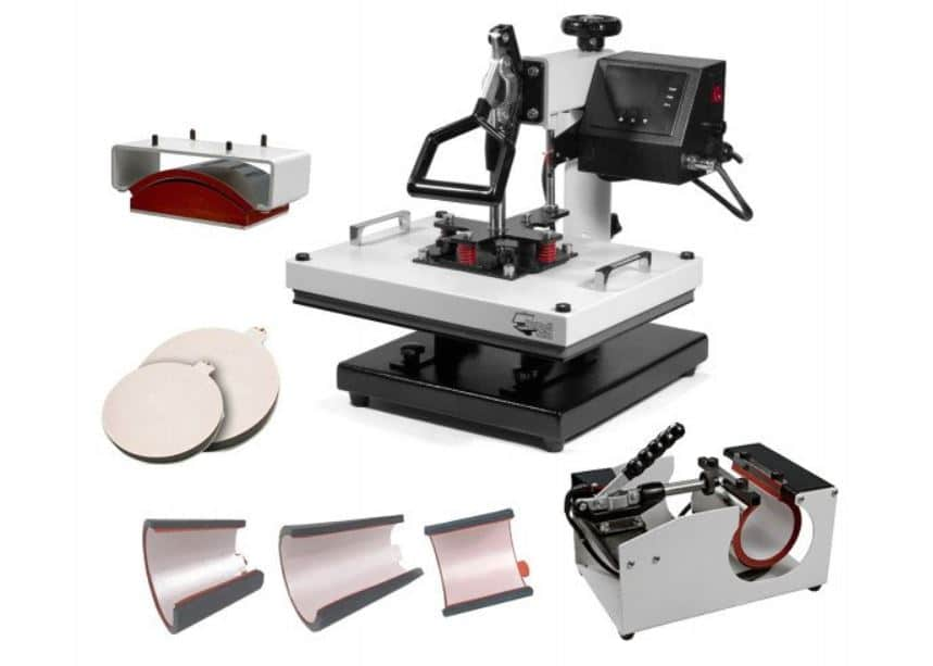 signature series multifunction heat press machine