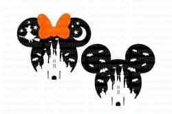 disney halloween svg
