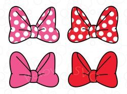 minnie bow svg