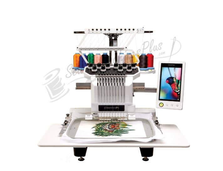 brother multi needle embroidery machine