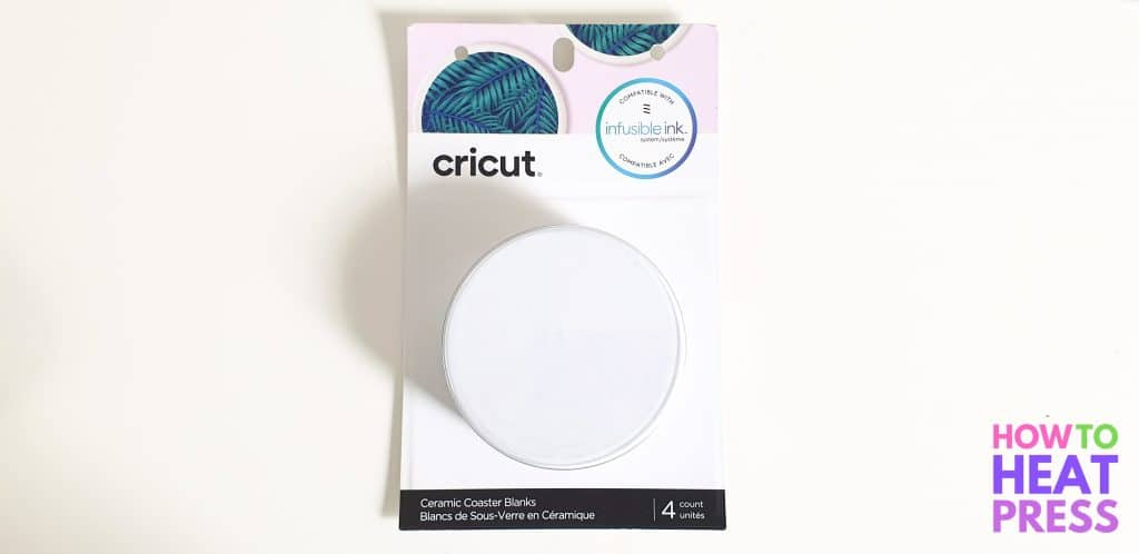 infusible ink blank coasters