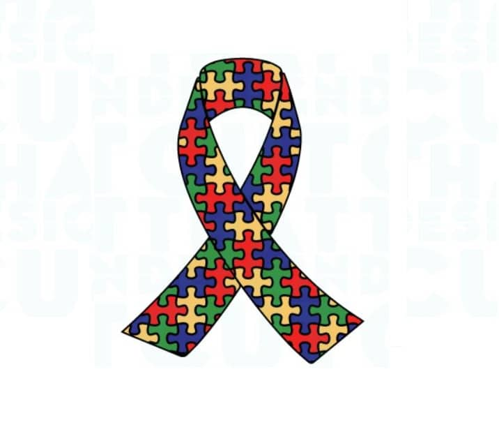 autism ribbon svg free