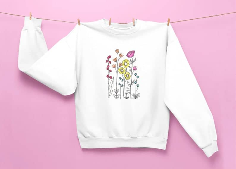 etsy embroidered sweatshirts