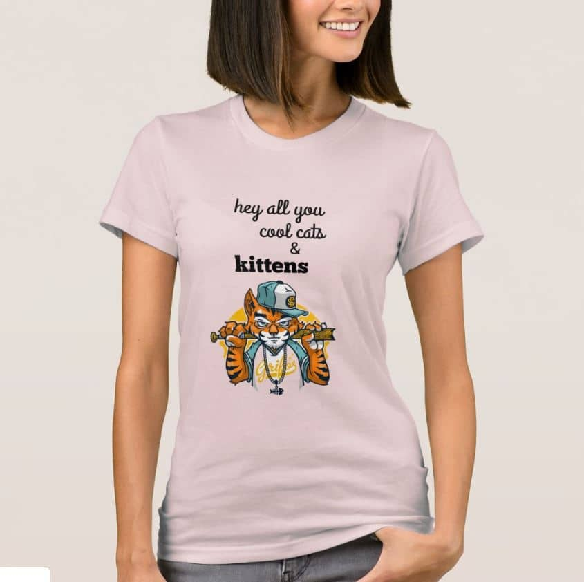 hey all you cool cats and kittens t shirt
