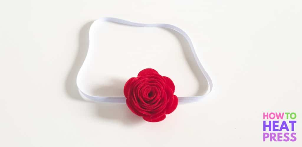 how to make felt flowers no sew