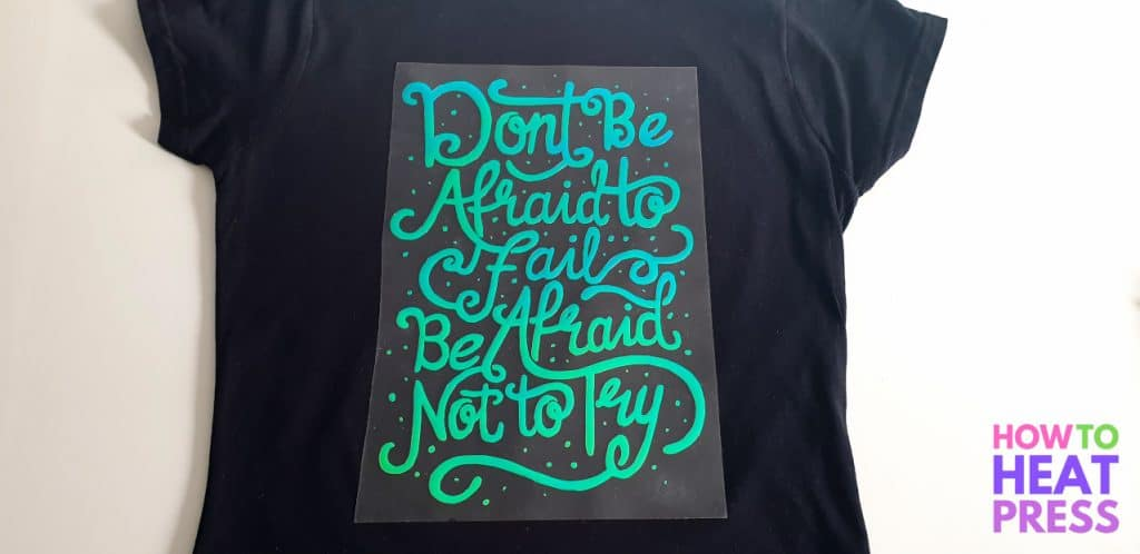 DIY inspirational womans shirt
