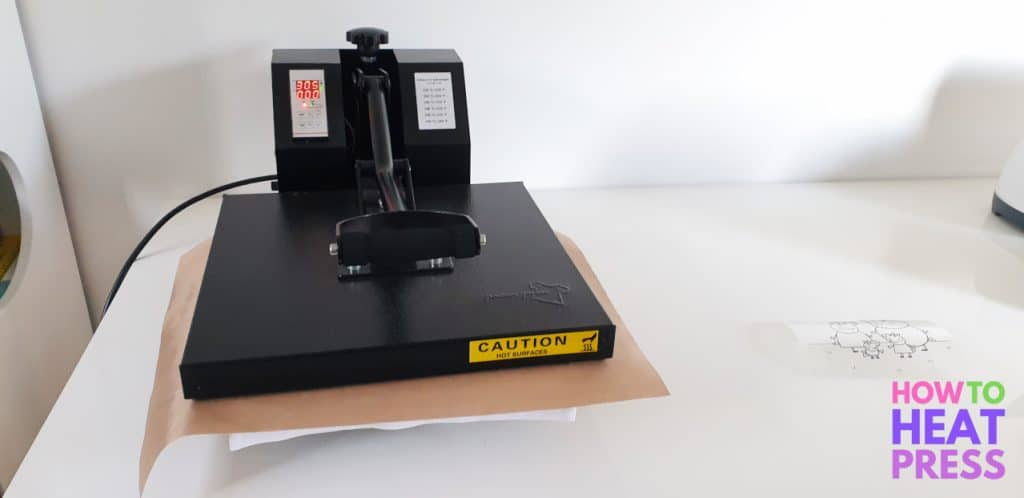 how to heat press siser easyweed